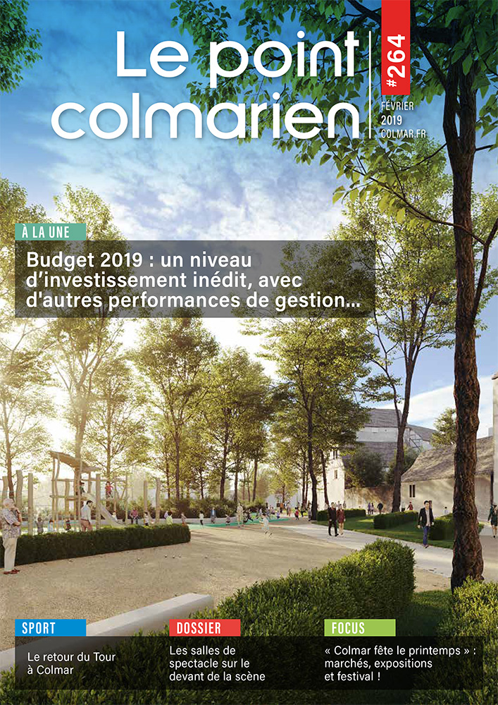 Couverture du point colmarien n°264