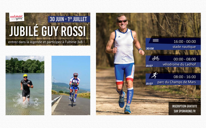 Jubilé Guy Rossi