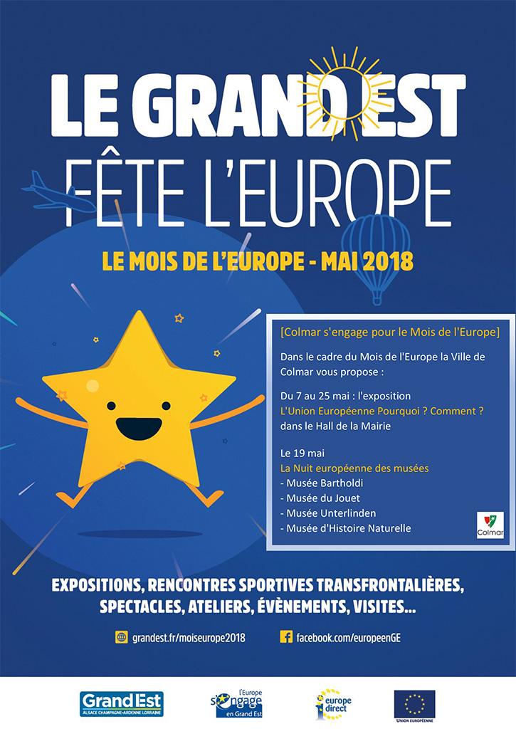 Le mois de l'Europe - mai 2018