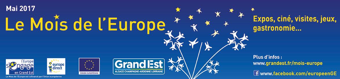 bannière Le Mois de L'Europe