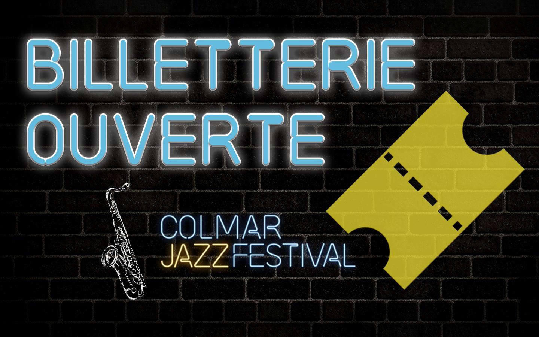 Billetterie ouverte pour le Colmar jazz festival