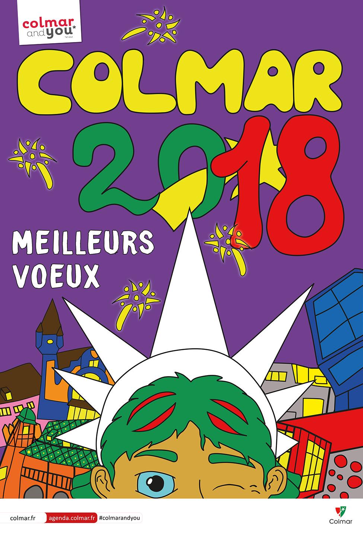 Vœux 2018 - affiche