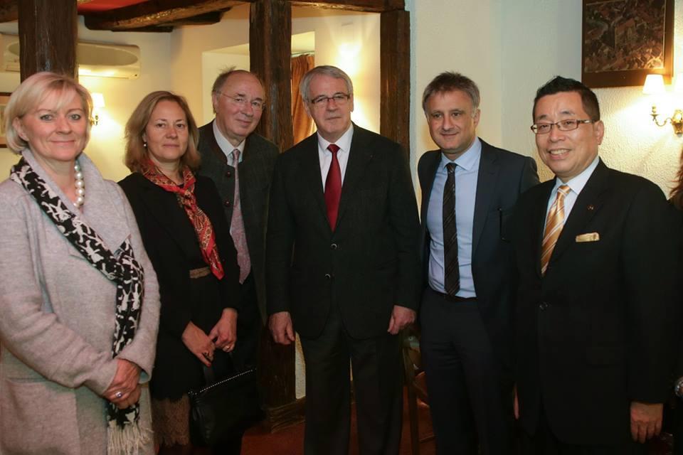 Venue du Maire de Takayama à Colmar, le 6 novembre 2015
