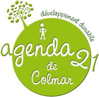 Logo agenda 21 de Colmar