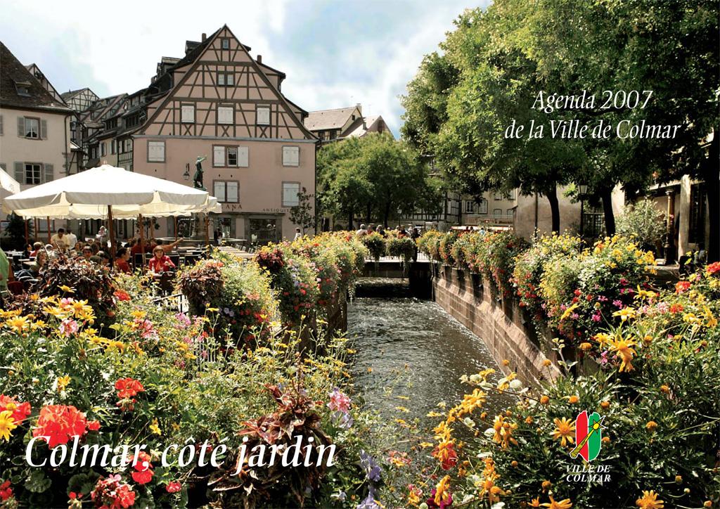 Couverture de l'agenda 2007 de la ville de Colmar