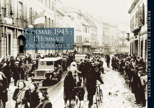 Couverture de l'agenda 2010 de la ville de Colmar
