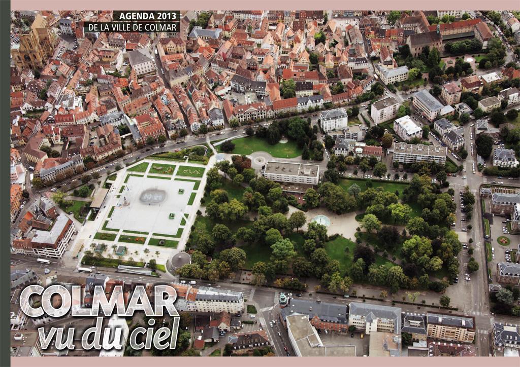 Couverture de l'agenda 2013 de la ville de Colmar