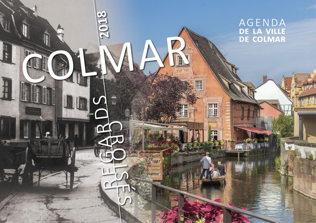 Couverture de l'agenda 2018 de Colmar