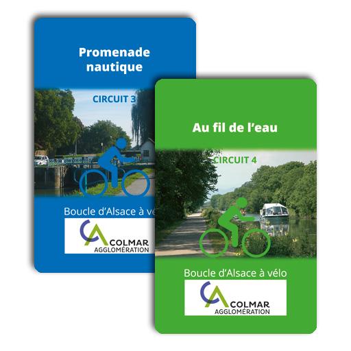 Colmar agglo à vélo : carte Z - circuit 3 et circuit 4