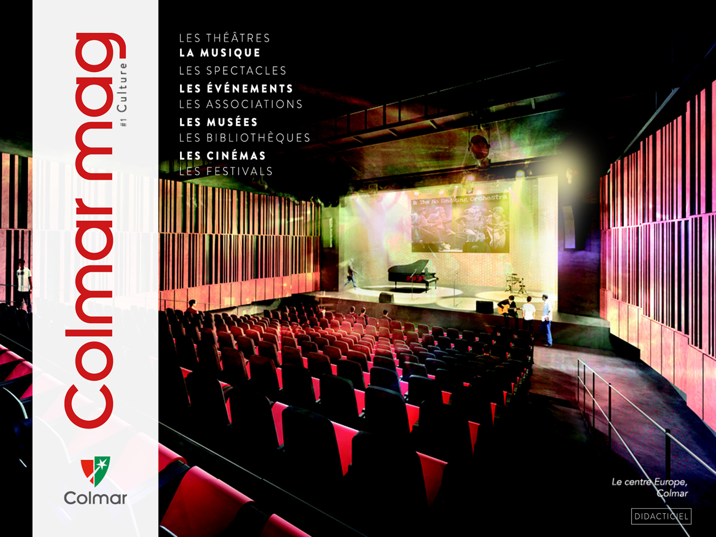 Couverture du Colmar mag #1 - Culture