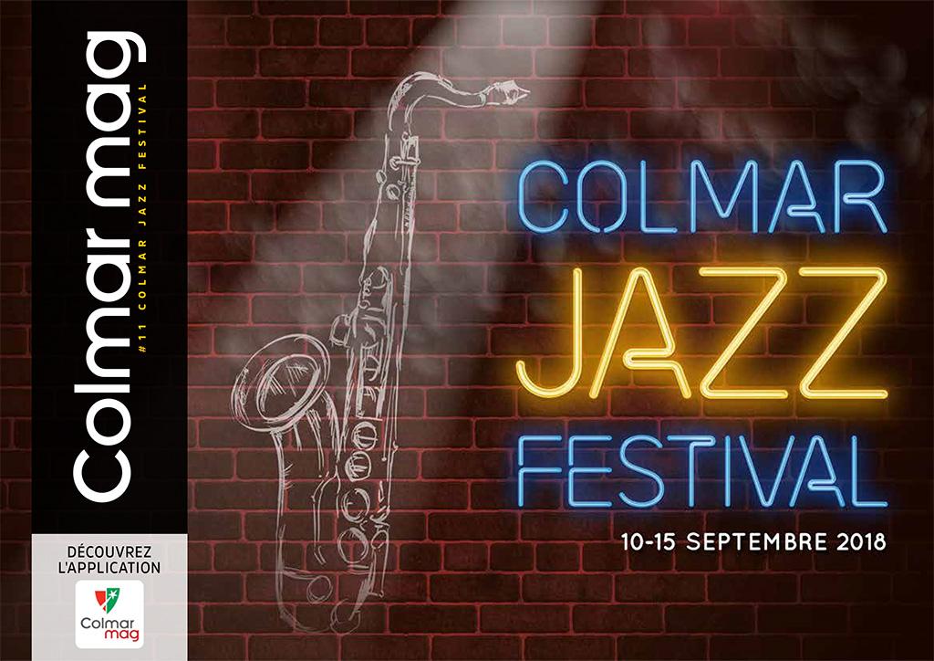 Couverture du Colmar mag #11 - Colmar jazz festival
