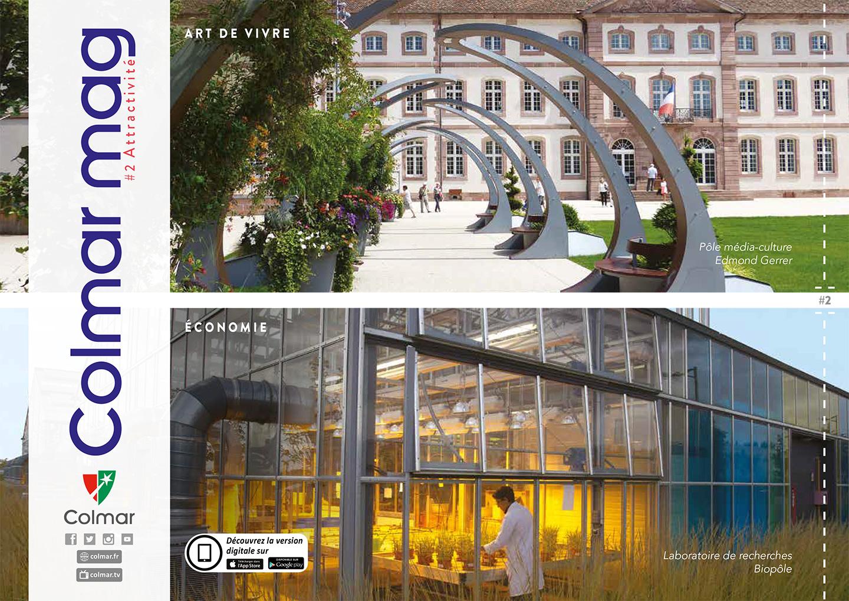 Couverture du Colmar mag #2 - Attractivité