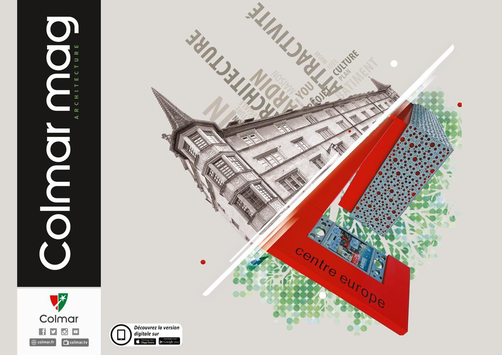 Couverture du Colmar mag #5 - Architecture