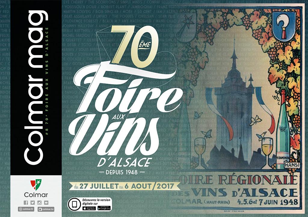 Couverture du Colmar mag #8 - Foire aux vins d'Alsace