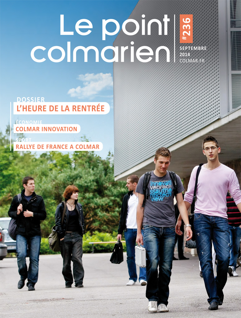 "La couverture du magazine ""Le point colmarien"" n°236"