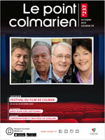 "La couverture du magazine ""Le point colmarien"" n°237"