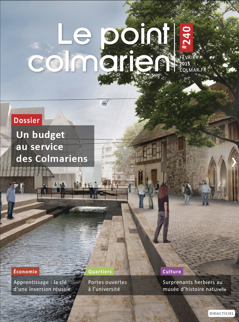 "La couverture du magazine ""Le point colmarien"" n°240"