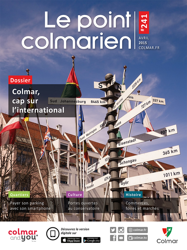 Couverture du point colmarien n°241 - avril 2015