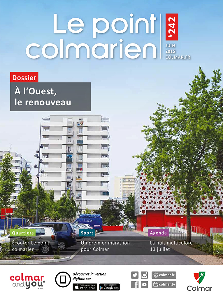 Couverture du point colmarien n°242 - juin 2015