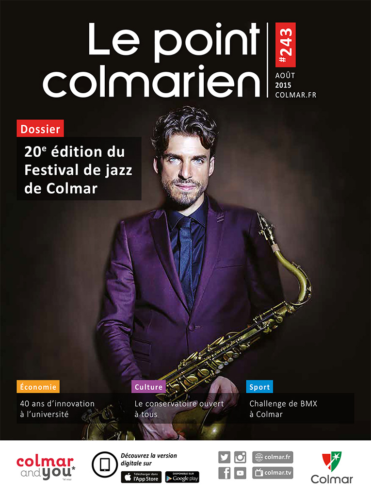 Couverture du point colmarien n°243 - août 2015