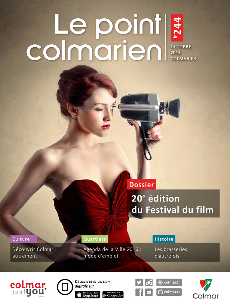 Couverture du point colmarien n°244 - octobre 2015