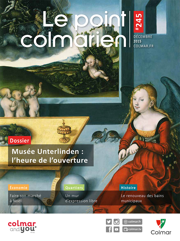 Couverture du point colmarien n°245 - décembre 2015