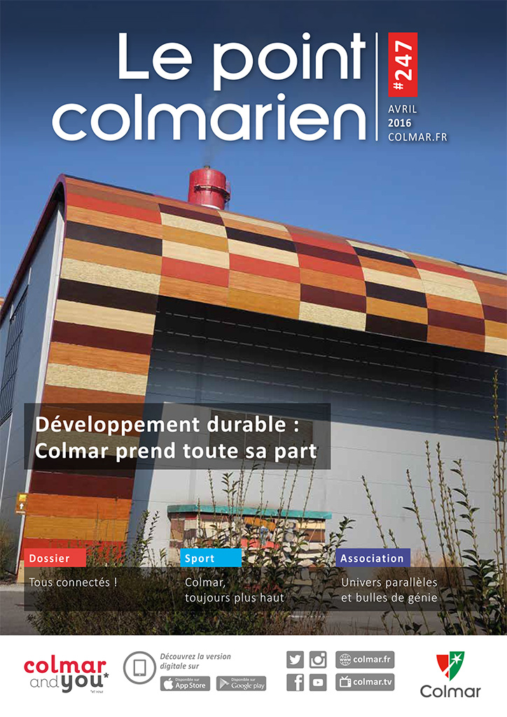 Couverture du point colmarien n°247 - avril 2016