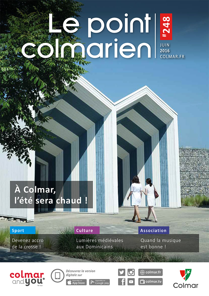 Couverture du point colmarien n°248 - juin 2016
