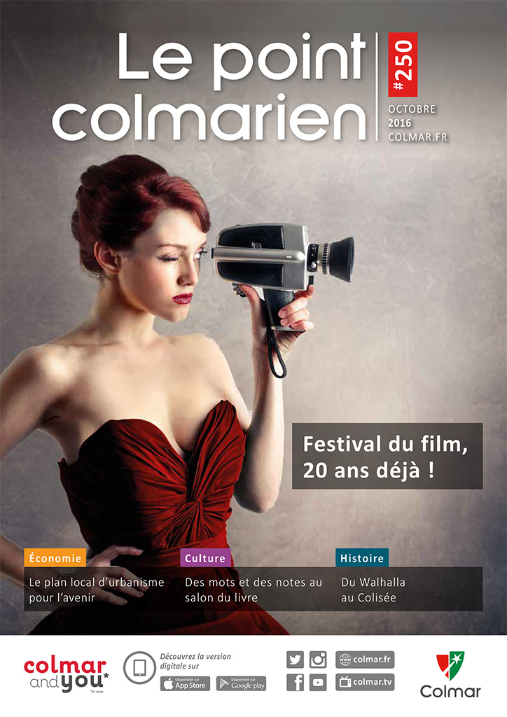 Couverture du point colmarien n°250 - octobre 2016