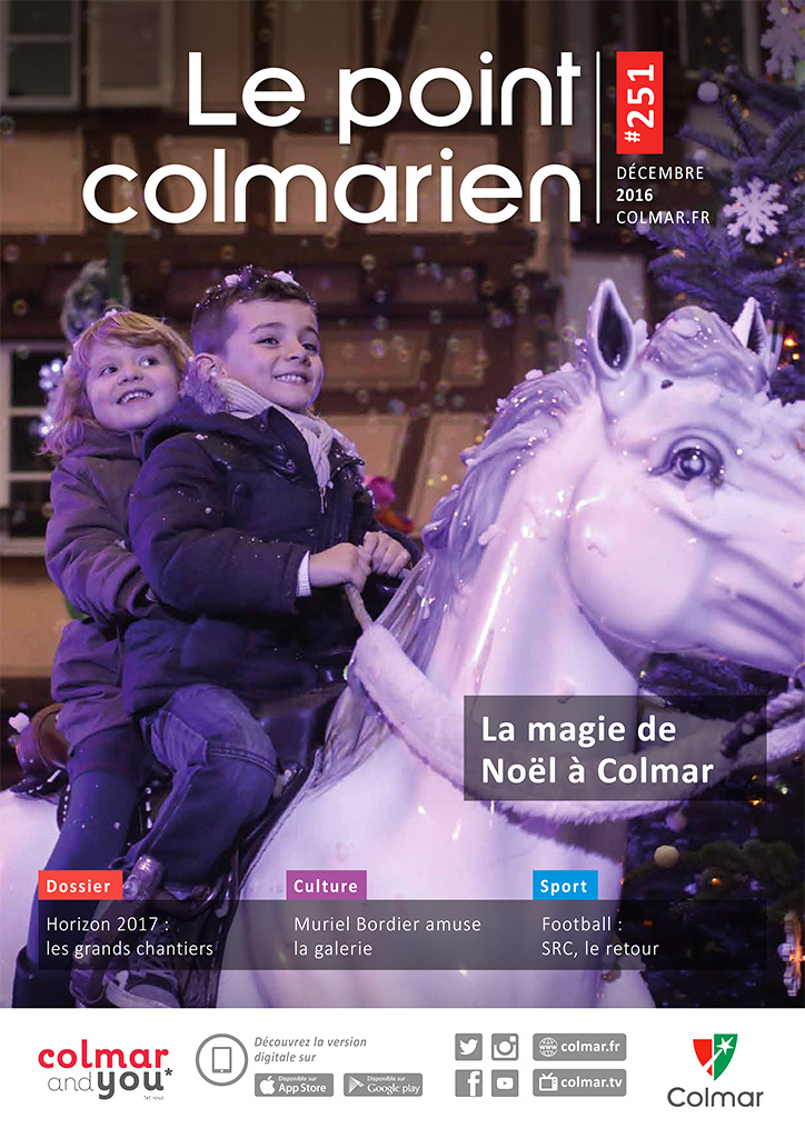 Couverture du point colmarien n°251 - décembre 2016