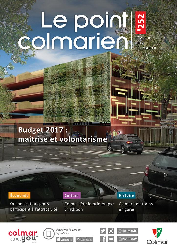 Couverture du point colmarien n°252 - février 2017