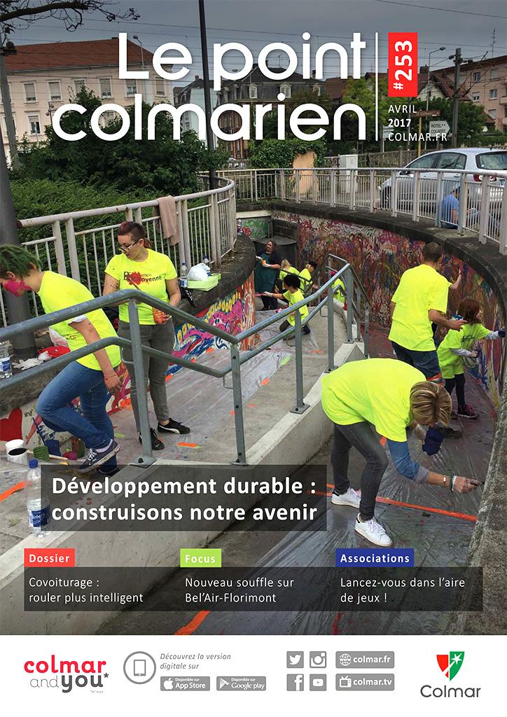 Couverture du point colmarien n°253 - avril 2017