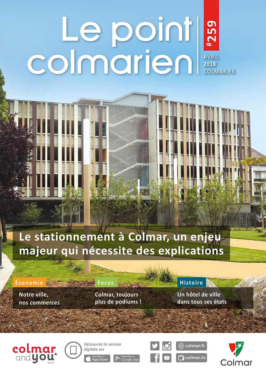 Le point colmarien n°259 - avril 2018