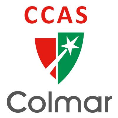 Le logo du centre communal d'action sociale de Colmar