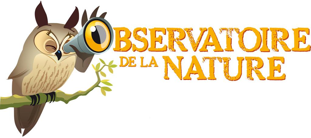 Le logo de l'observatoire de la nature