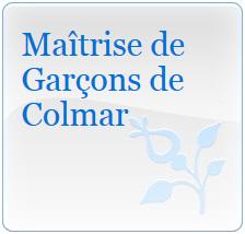Le logo de la maîtrise de garçons de Colmar