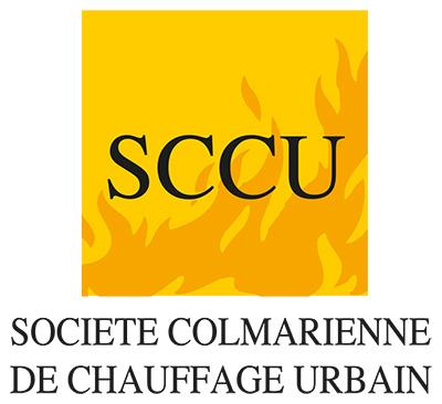 Le logo de la société colmarienne de chauffage urbain