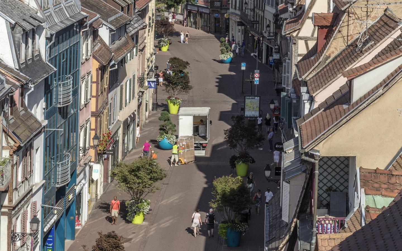 Photo de la rue des Clés à Colmar