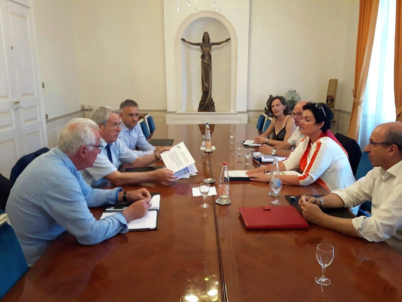 Présentation des conclusions des premières préconisations au Maire de Colmar