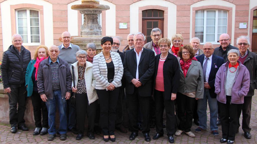 Les membres de la commission 1 du conseil des sages de Colmar