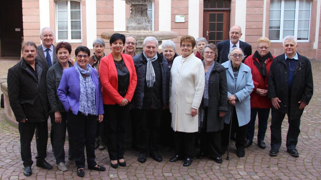 Les membres de la commission 2 du conseil des sages de Colmar