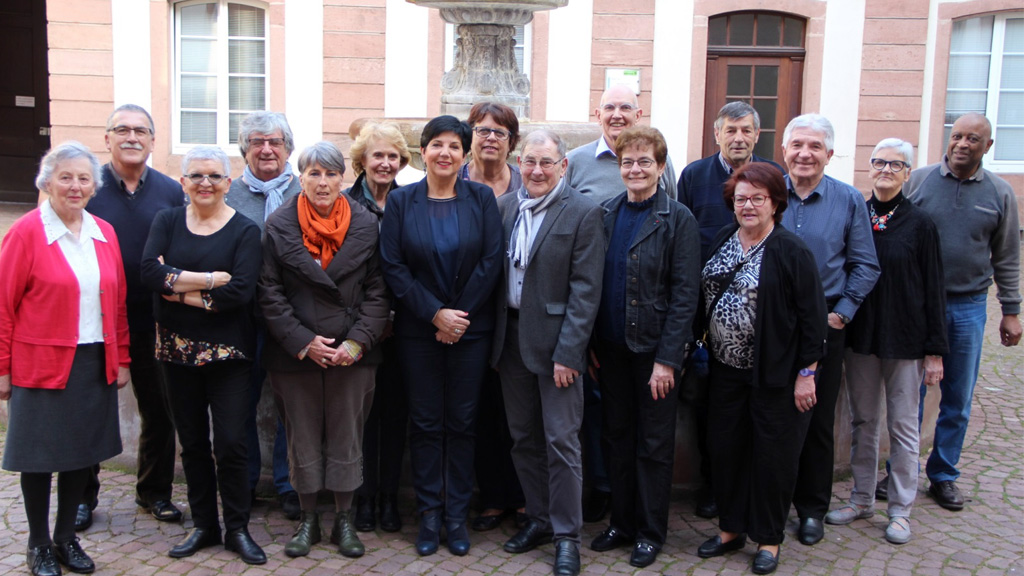 Les membres de la commission 3 du conseil des sages de Colmar