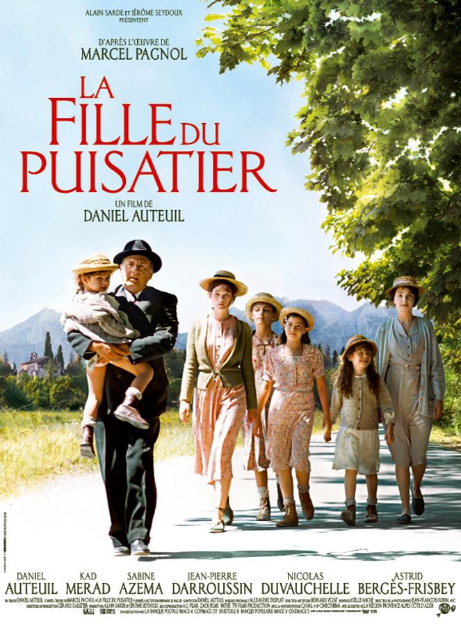 """L'affiche du film """"La fille du puisatier"""""""