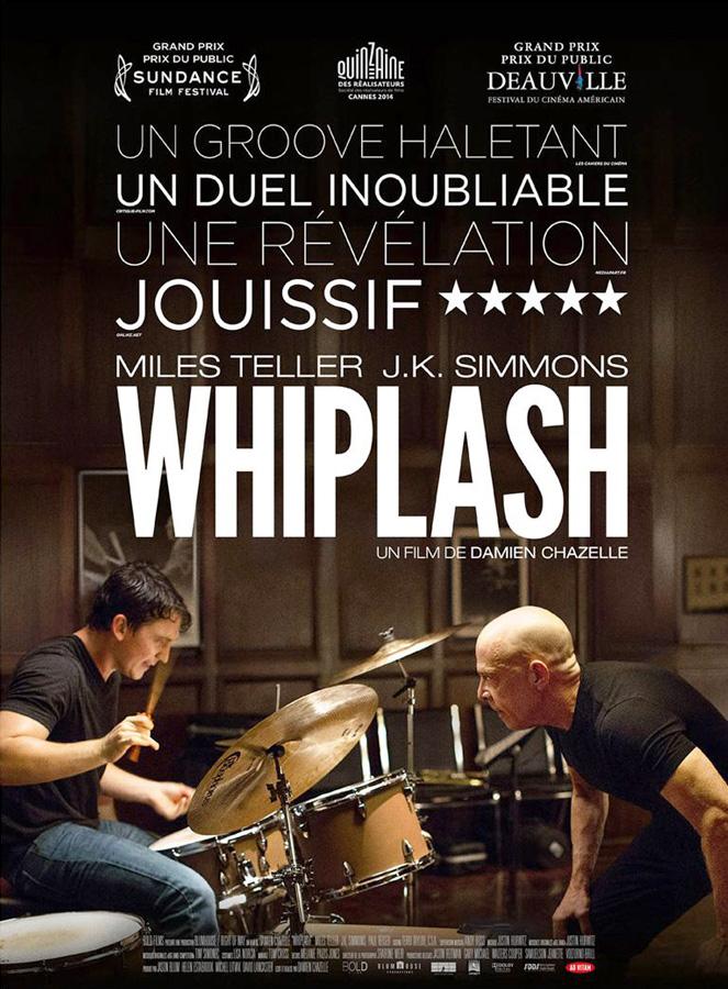 "L'affiche du film ""Whiplash"""