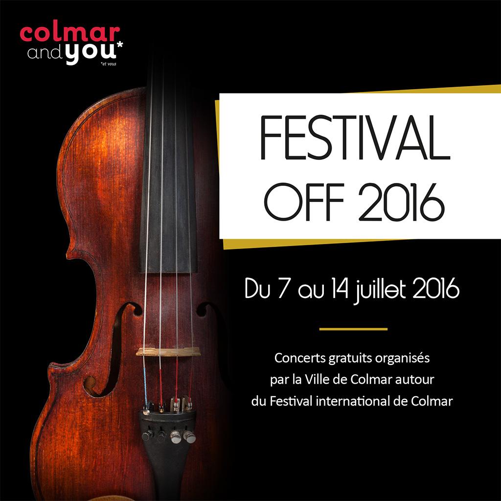 Festival international de Colmar - Le off 2016