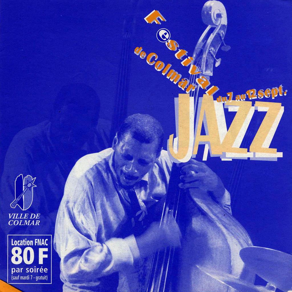 Couverture du programme du Festival de Jazz de Colmar 1999