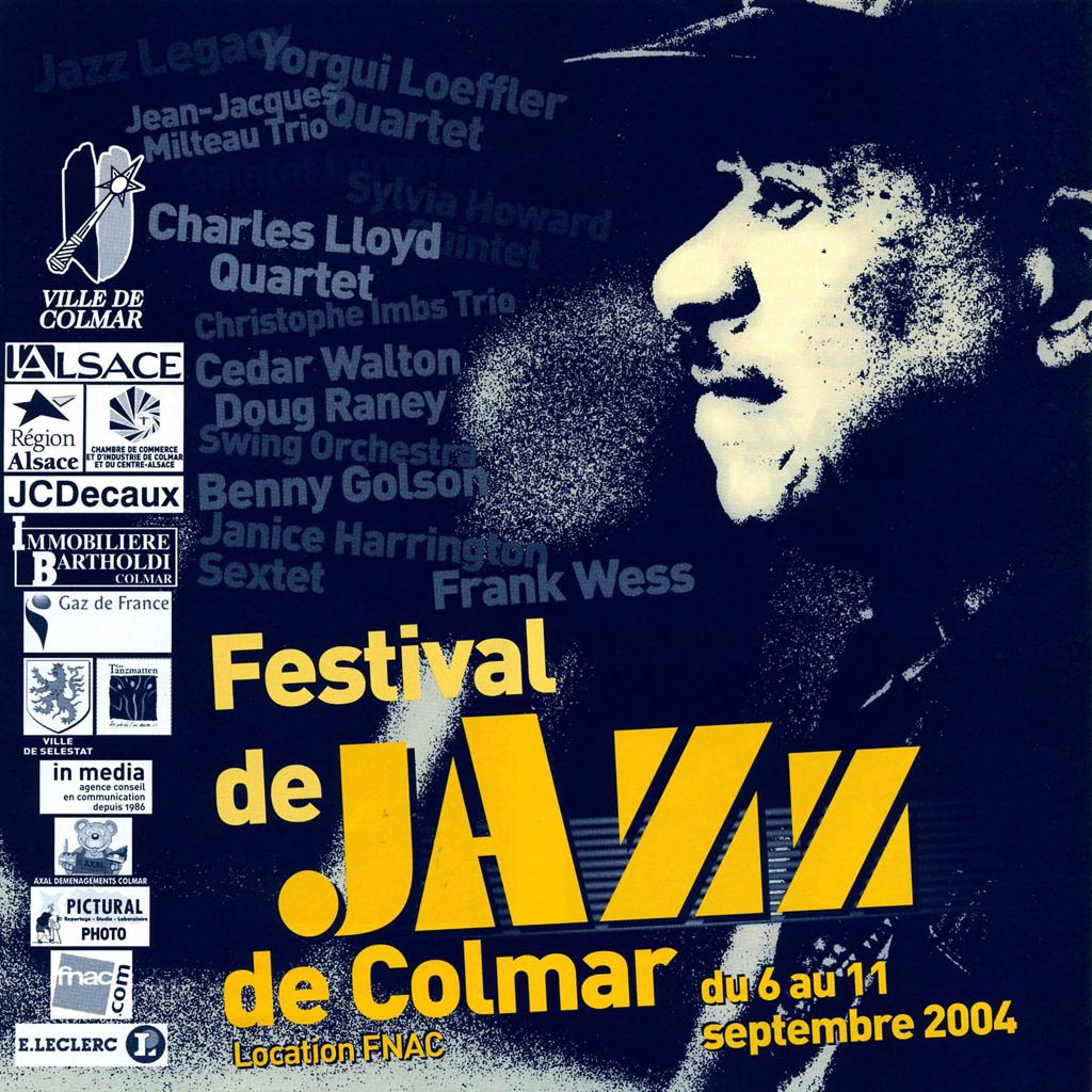 Couverture du programme du Festival de Jazz de Colmar 2004