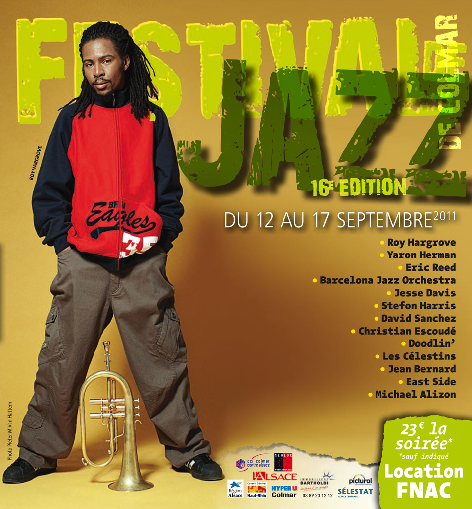 Couverture du programme du Festival de Jazz de Colmar 2011