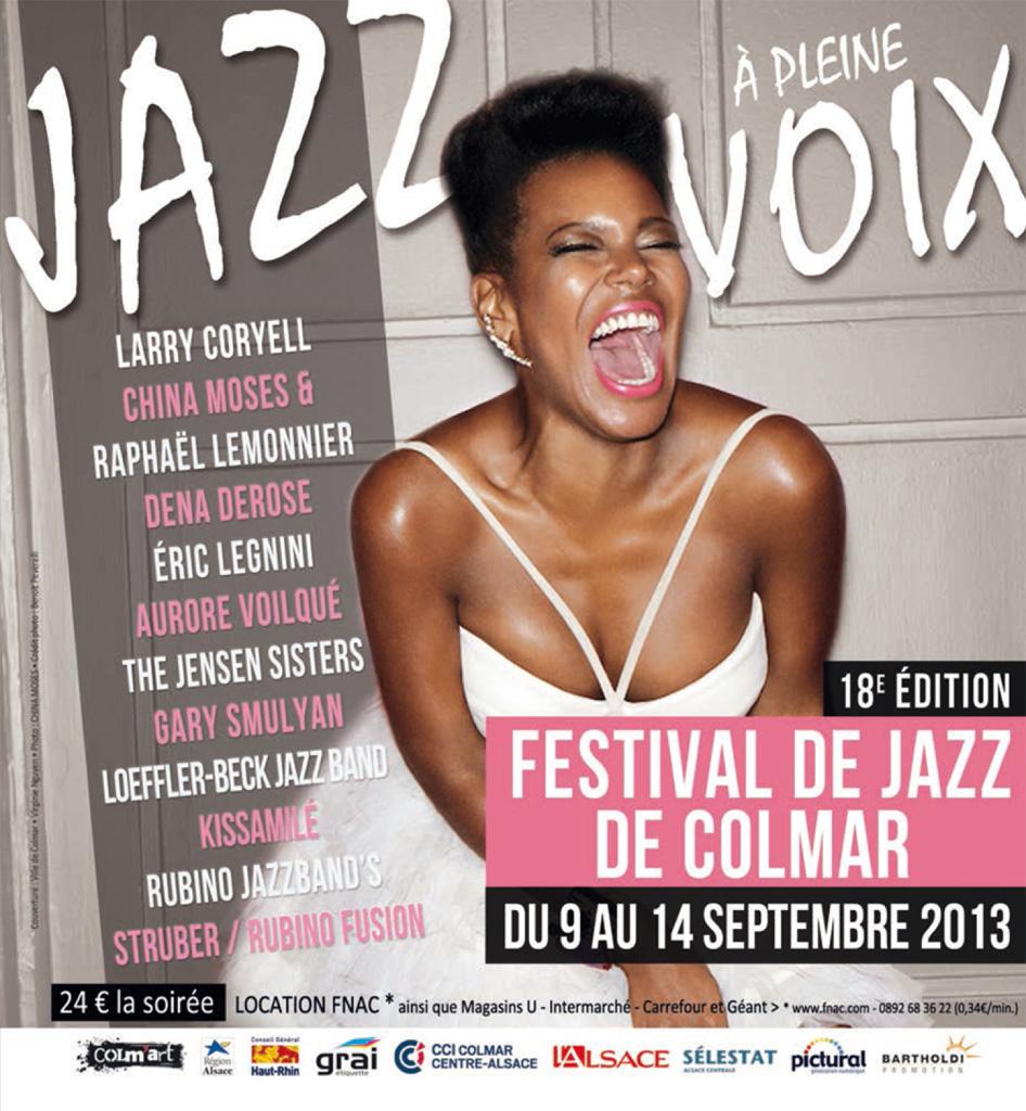 Couverture du programme du Festival de Jazz de Colmar 2013