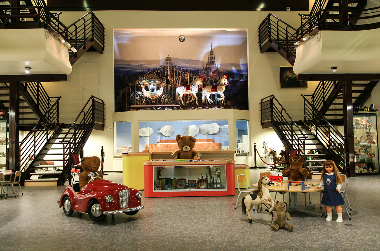 Vue intérieure du musée du jouet de Colmar